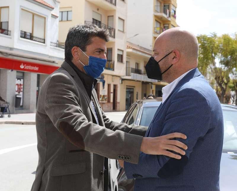 Carlos Mazón y Vicente Raúl Llobell/EPDA