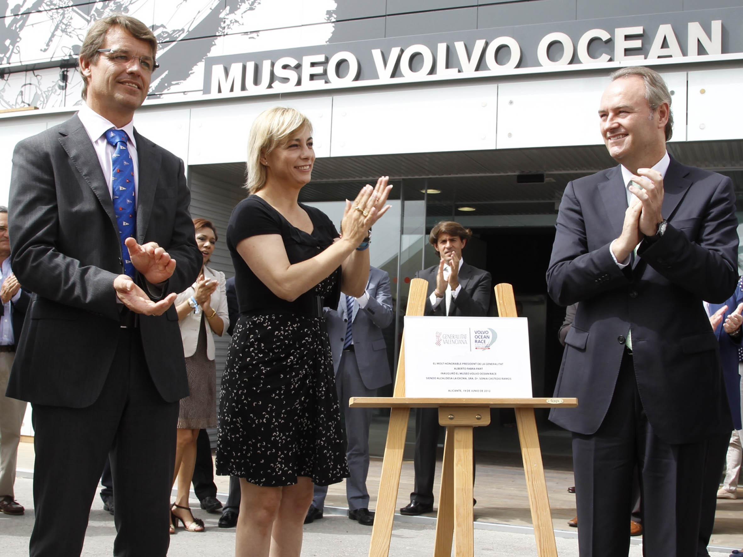 Inauguració del Museu Interactiu de la Volvo Ocean Race. Foto EPDA