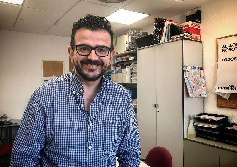El portavoz del grupo municipal del PP, Jaime López Bronchud