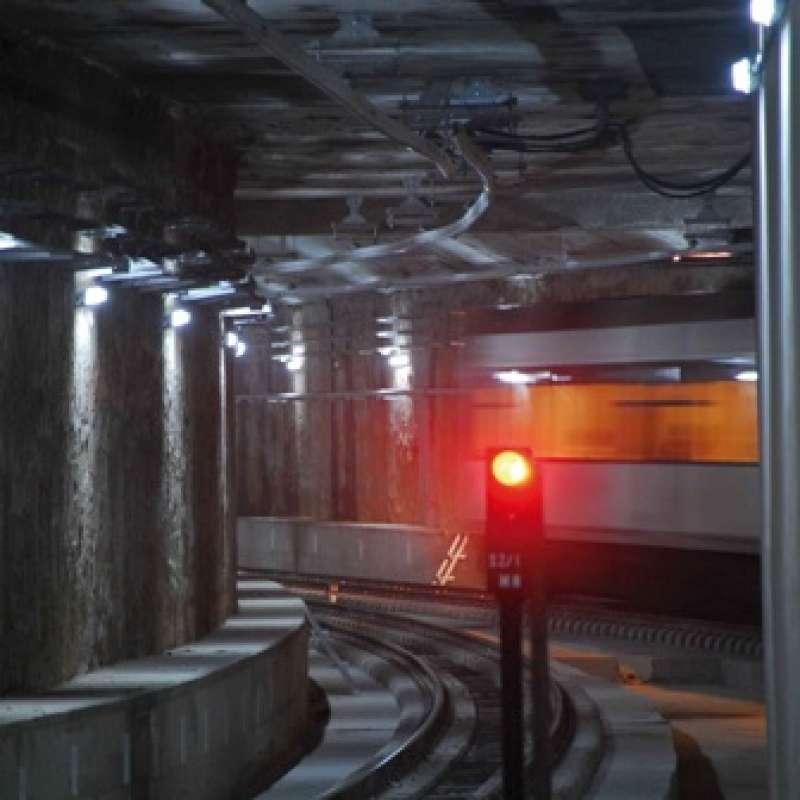 Uno de los túneles. EPDA