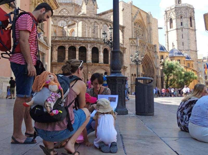 Niños en Valencia. EPDA.