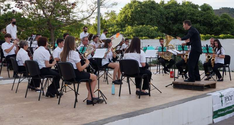 Concert benèfic a Estivella. / EPDA