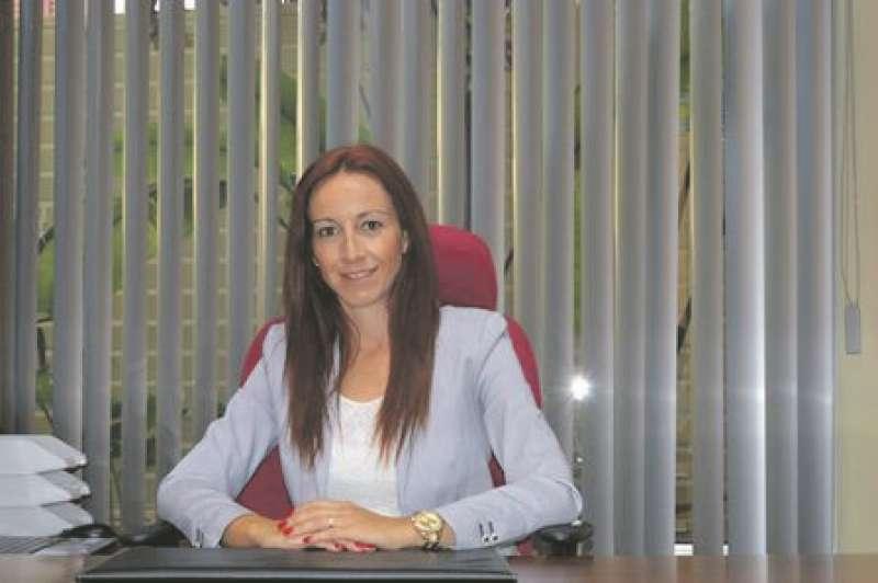 L?alcaldessa de Museros, Cristina Civera. EPDA