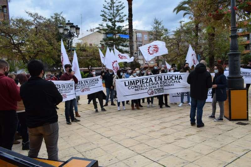 Manifestación/EPDA