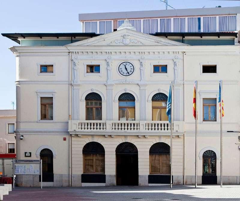 Ayuntamiento de Tavernes de la Valldigna.