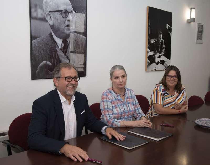 Martí visitó la fundación en septiembre
