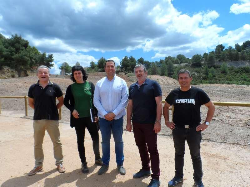 Visita del Diputat de medi ambient a Chelva