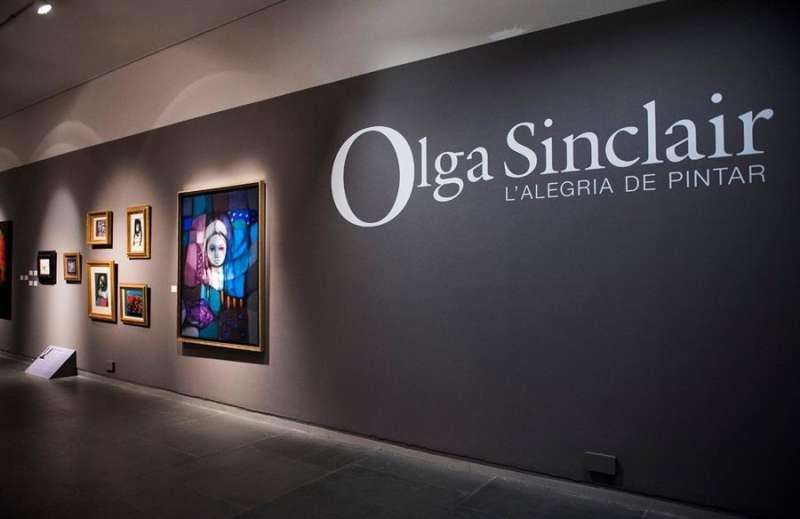 Detalle de la exposición de Olga Sinclair en el muVIM. Foto cedida por la Diputación de Valencia. EFE