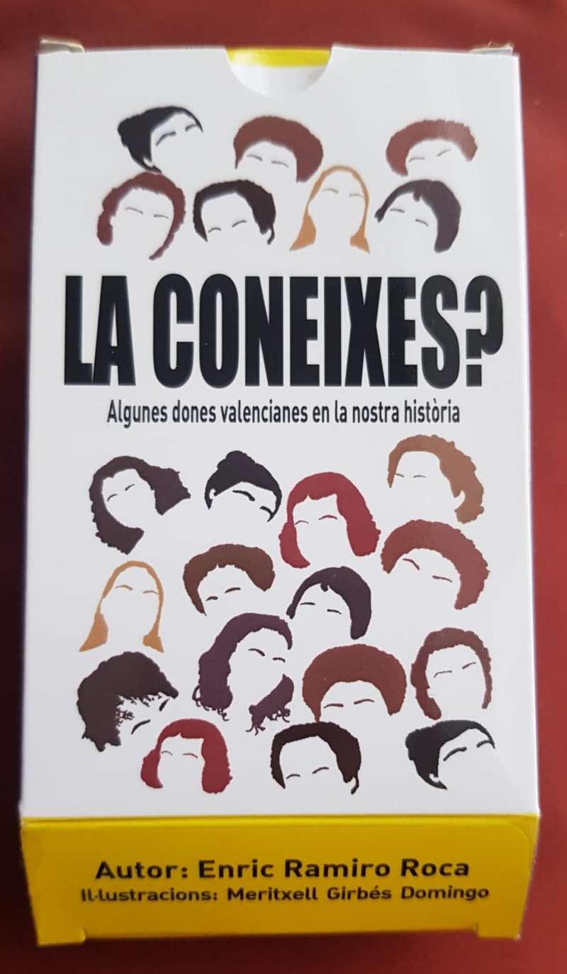 Baralla cartes de dones valencianes il·lustrades per Meritxell Girbés./Mireia Gandia Esteve