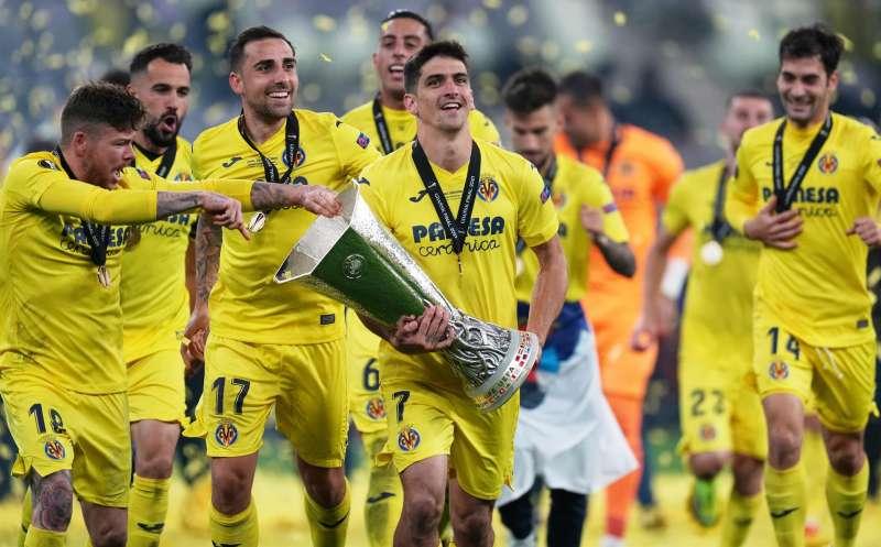 El Villarreal celebrará el título de la Liga Europa