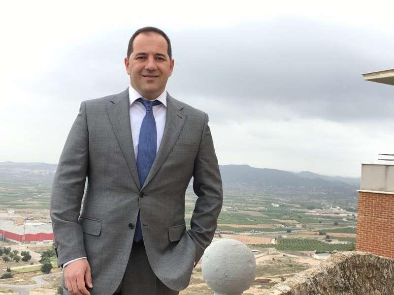 El Coordinador de la agrupación de Cs de Vilamarxant Víctor Sanchis. EPDA