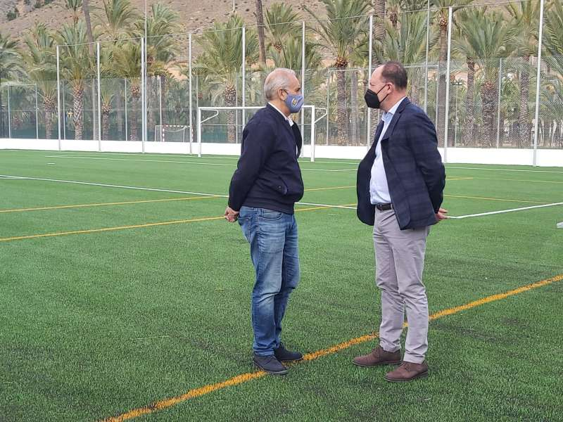 Emilio Bascuñana y Víctor Bernabéu