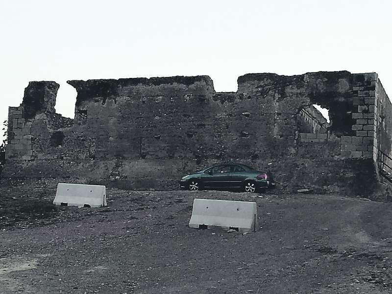 Estado actual del Castillo de Petrés. EPDA