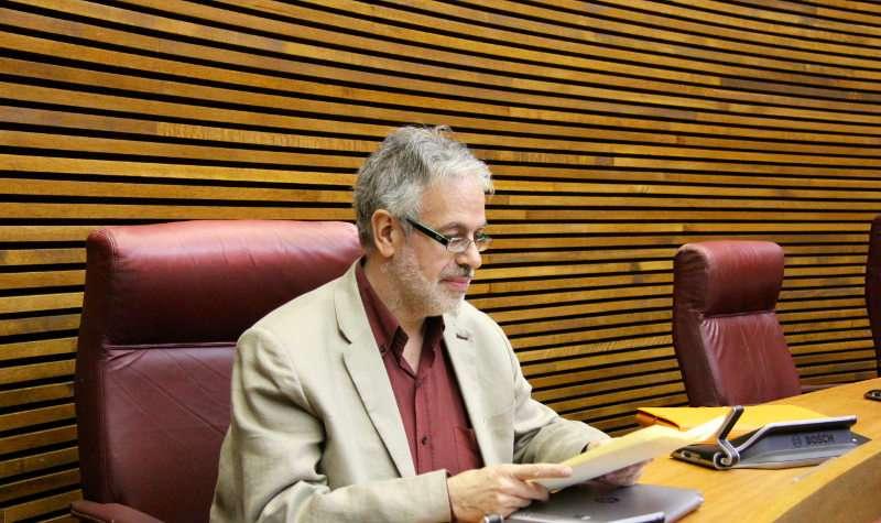 El diputat de Ciutadans (C?s) en Les Corts valencianes, Domingo Rojo