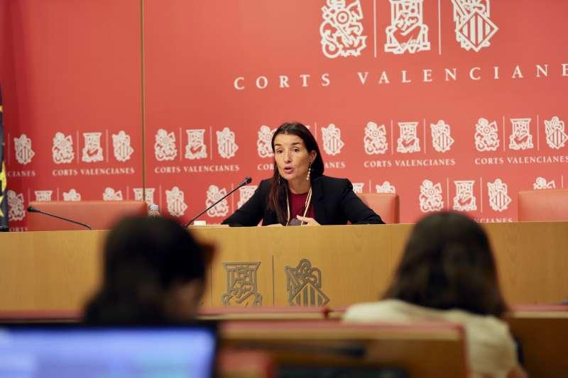 La portavoz adjunta de Ciudadanos (Cs) en Les Corts valencianas, Ruth Merino. EPDA