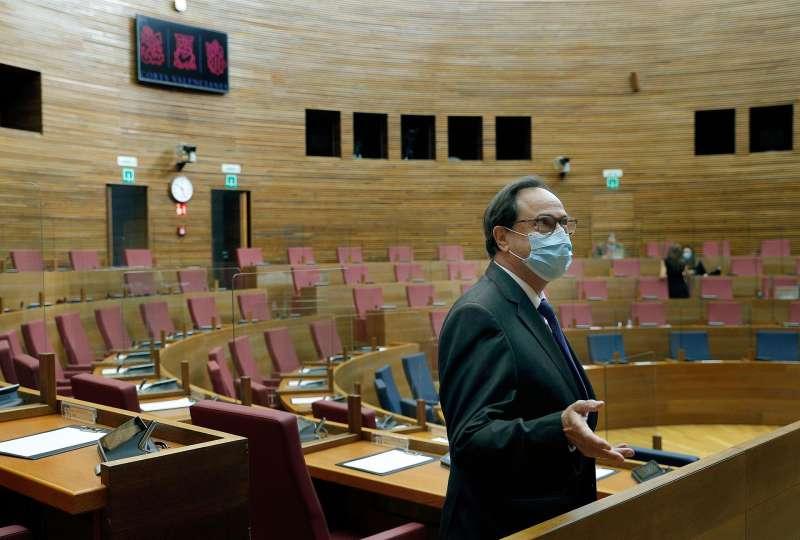 En la imagen, el conseller de Hacienda, Vicent Soler.