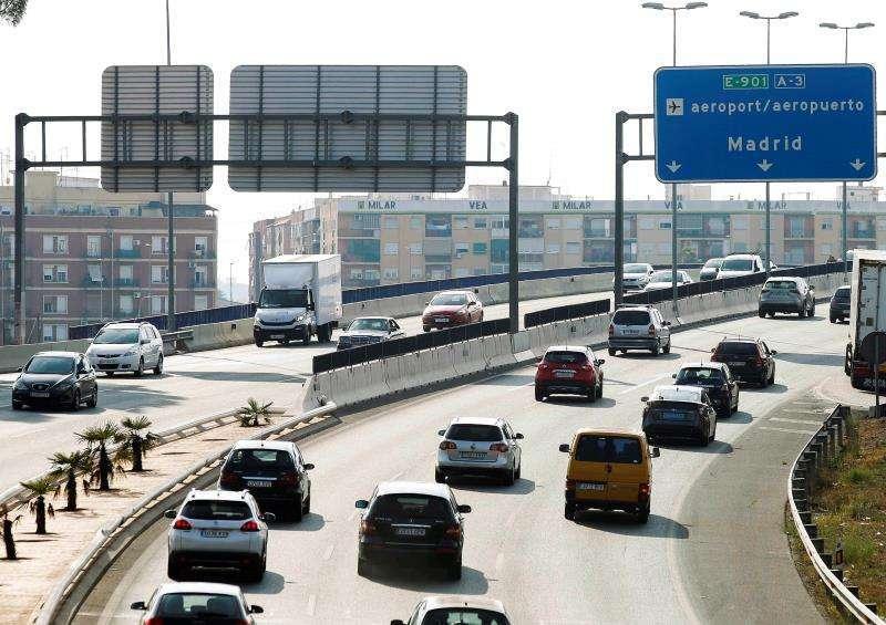 Entrada a València por al Avenida del Cid. EPDA