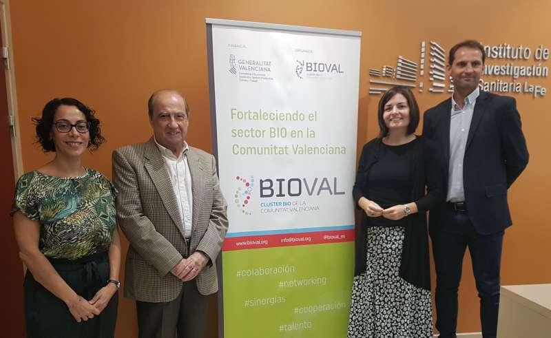 Responsables de Bioval. EPDA