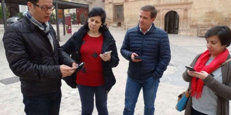 El alcalde de Xàtiva Roger Cerdà mostra la seua satisfacció.