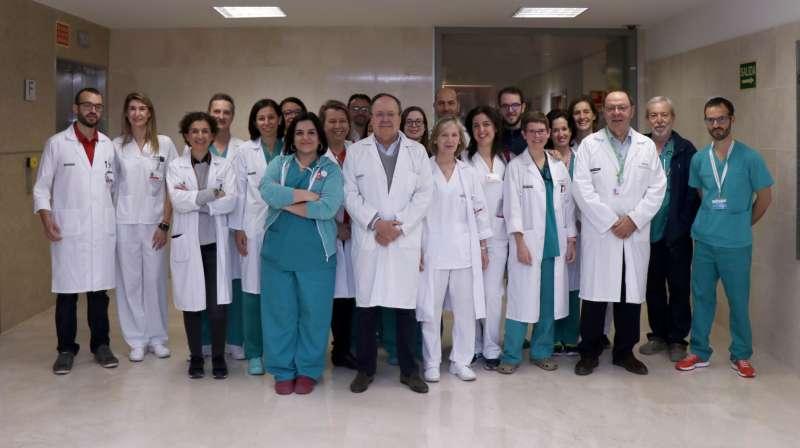 El equipo de Coloproctología del servicio Cirugía General y Digestiva del Hospital La Fe de València. EPDA