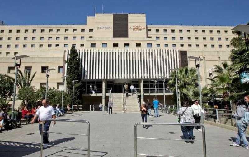 El Hospital Peset de València. EFE