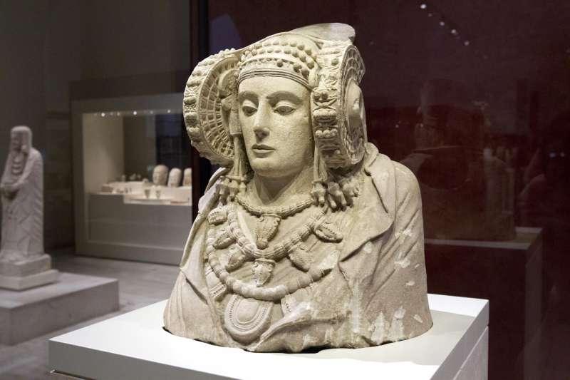 En la imagen, la Dama de Elche.