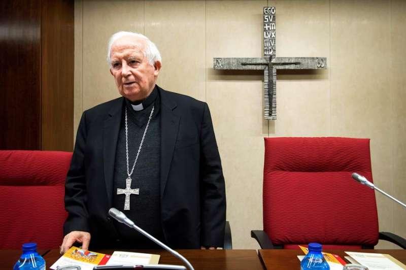 El cardenal arzobispo de Valencia y vicepresidente de la CEE, Antonio Cañizares. EFE