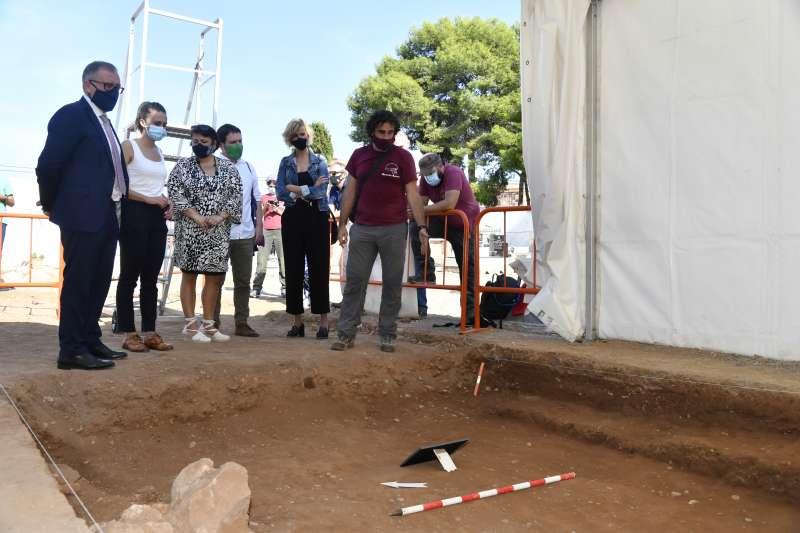Exhumaciones en el cementerio de Castelló