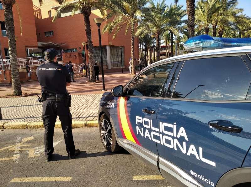 Una imagen de la Policía Nacional de Elche. EFE/PN