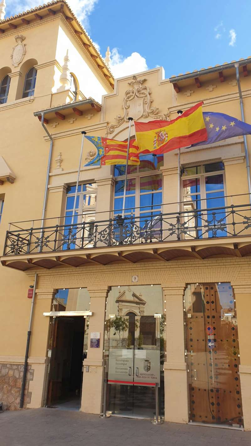 Ayuntamiento de la localidad.
