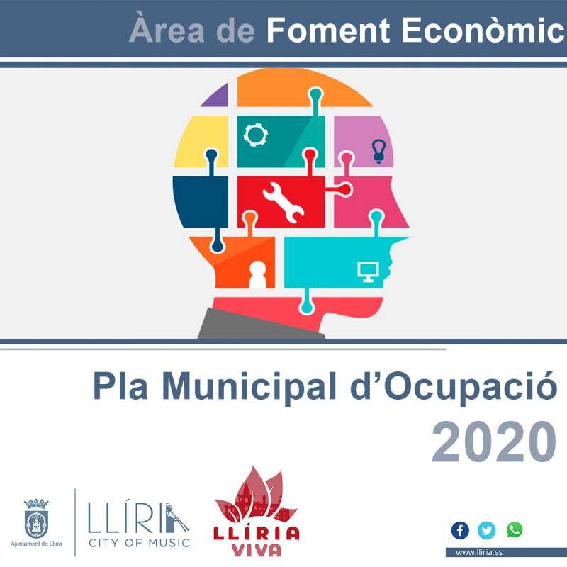 Cartel promocional sobre el Plan de Empleo. / EPDA