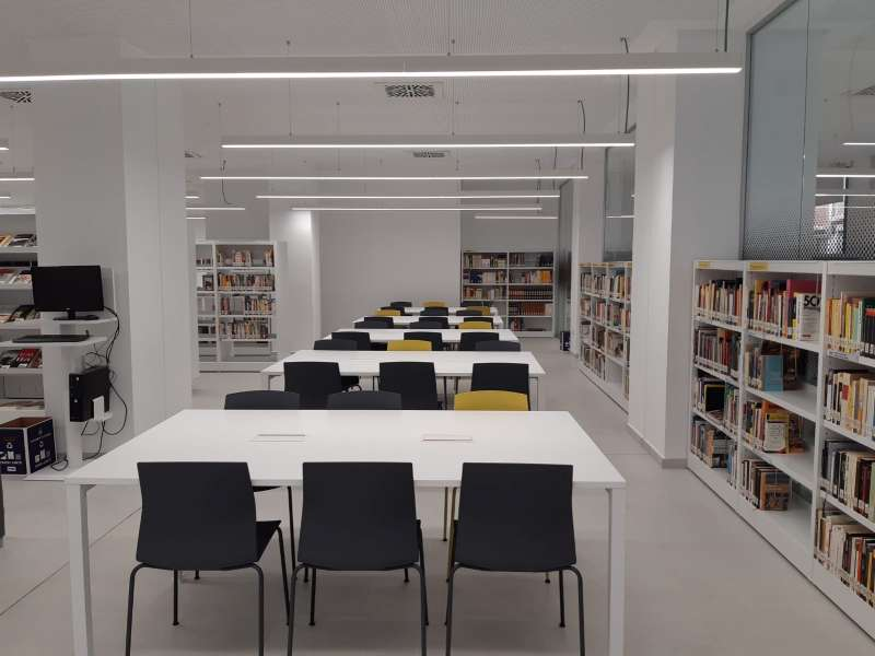La nueva biblioteca. EPDA