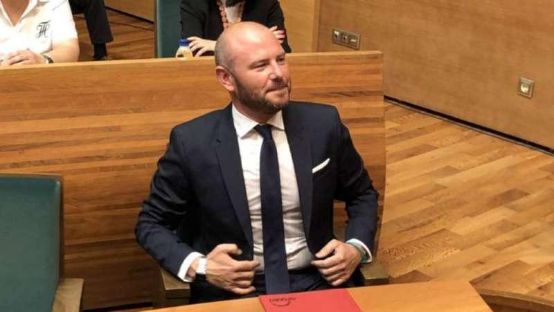 El alcalde de Faura, Toni Gaspar.