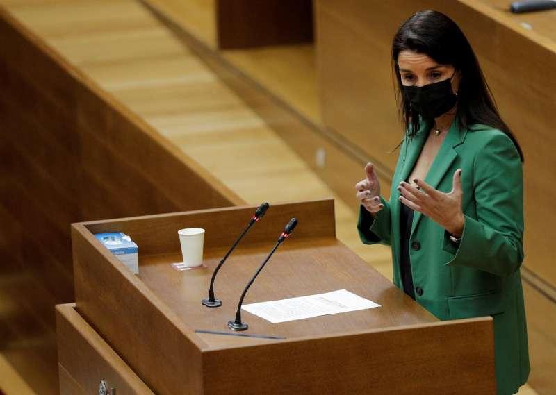 La portavoz de Ciudadanos, Ruth Merino, en una imagen reciente.