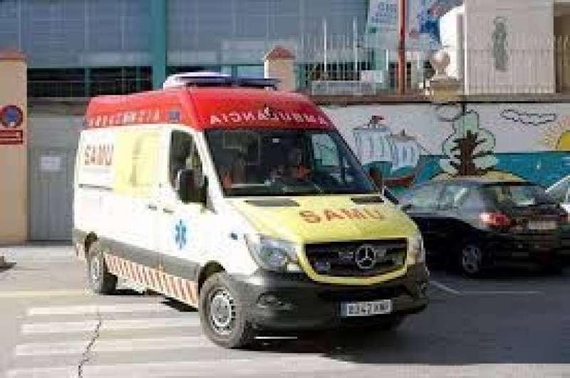 Ambulancia en una imagen de archivo.