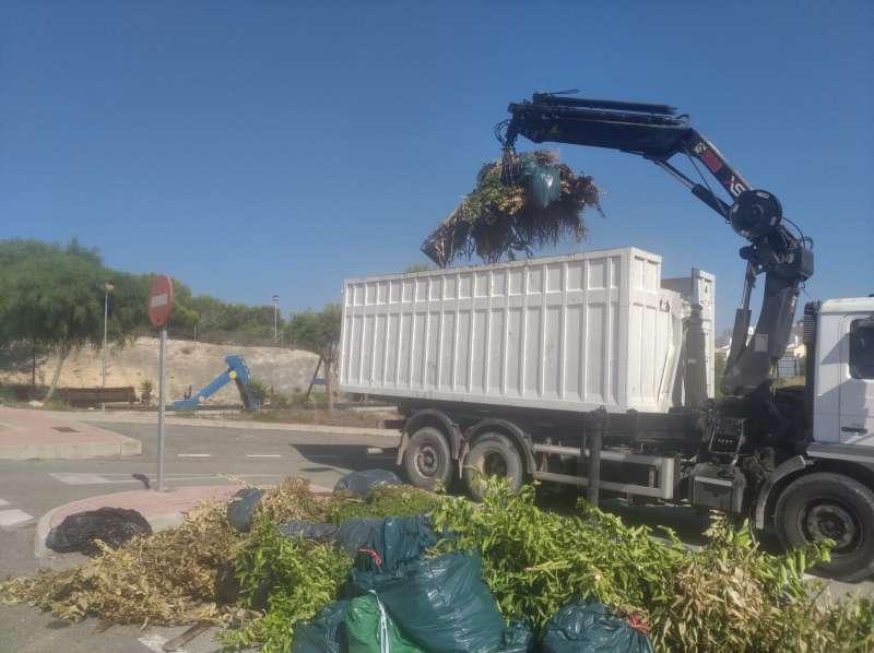 Recogida de residuos/EPDA