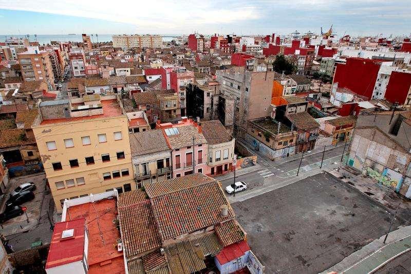 Barri del Cabanyal en València. EPDA