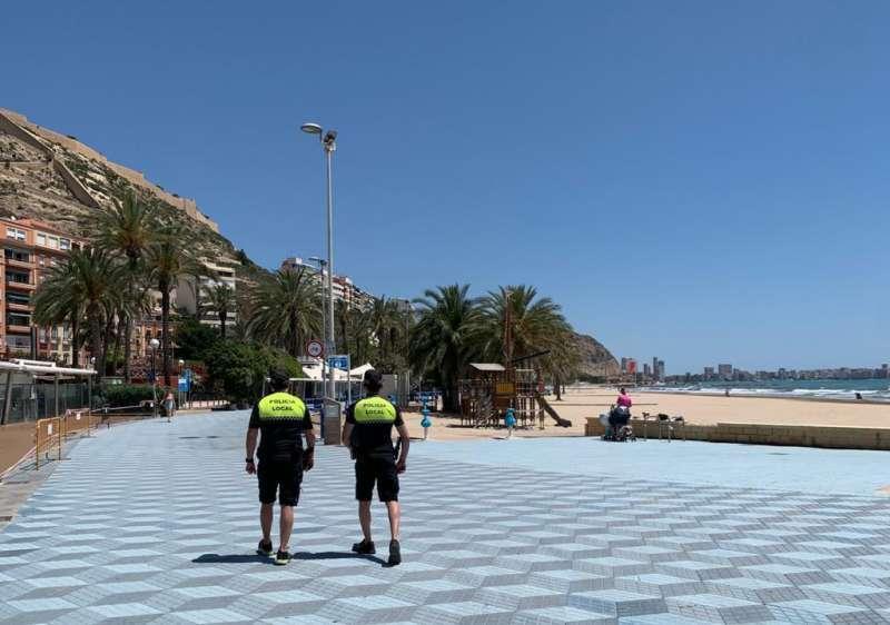 Policía Local de Alicante. EPDA/Archivo
