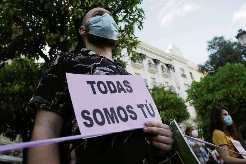 Protesta tras una violación en