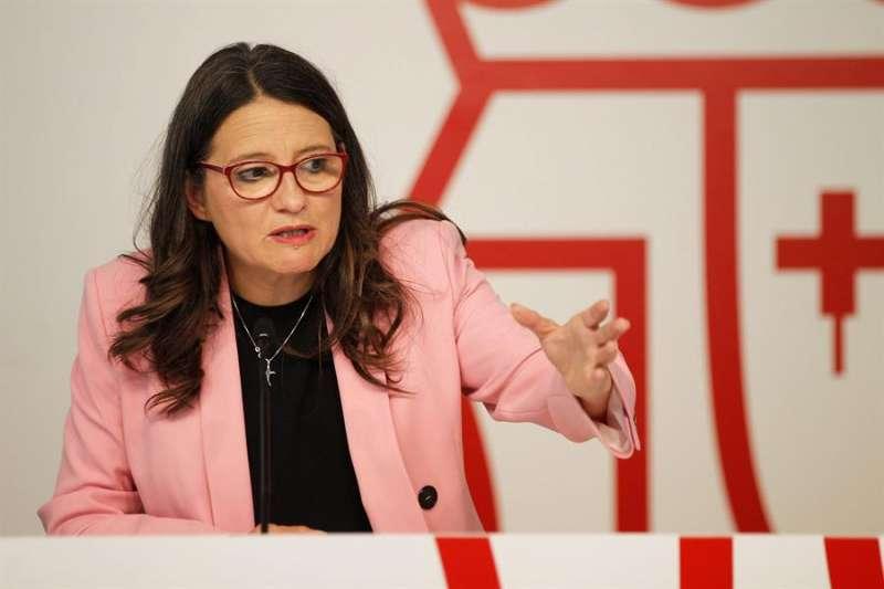 La Vicepresidencia y Conselleria de Igualdad y Políticas Inclusivas, Mónica Oltra. EFE