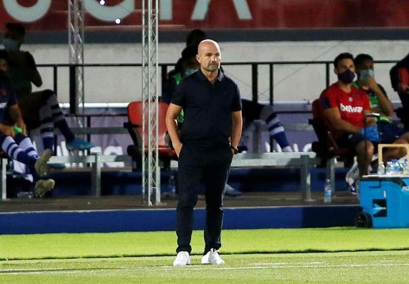 El técnico del Levante, Paco López. EFE /Archivo