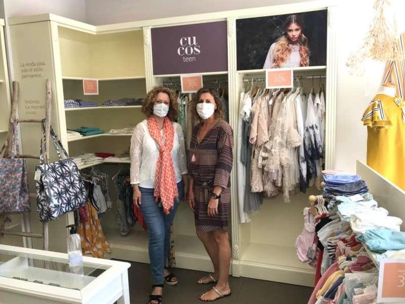 Visita a uno de los comercios textiles de Torrent. EPDA