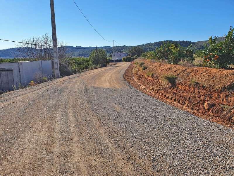 Camino del Pla dels Churros. / EPDA