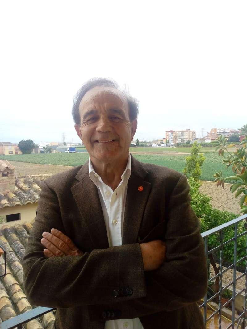 El portavoz de Ciudadanos (Cs) en Almàssera, Jesús Pastor. epda
