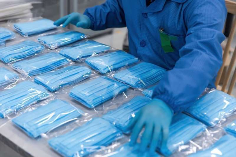 Mascarillas para evitar el coronavirus. / EPDA