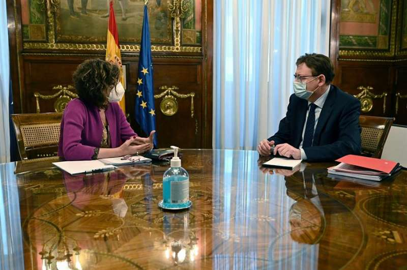 Puig con Montero en Madrid / EFE