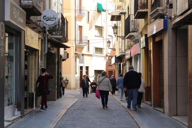 Calle Julio Cervera. Foto: Archivo