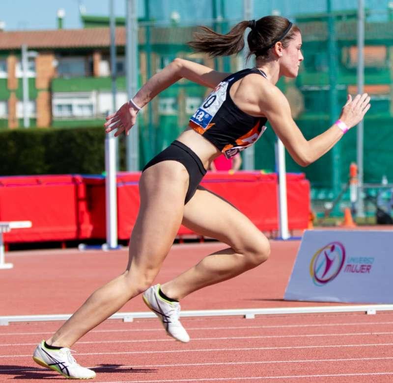 La atleta de Puçol Clara Izquierdo. EPDA