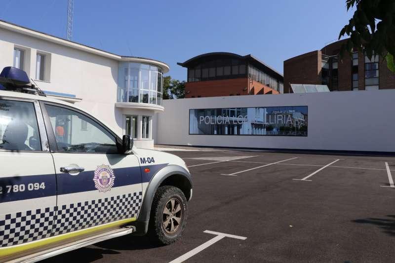 Policía Local de Llíria. / EPDA