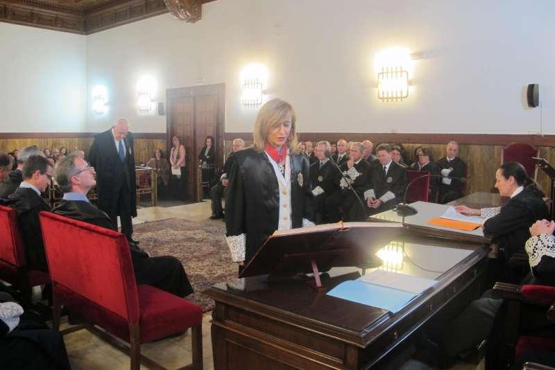 La nueva secretaria de Gobierno jura mantener la confidencialidad de las deliberaciones de la Sala de Gobierno del TSJCv